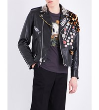 Coach 1941 Swamp Leather Jacket Black