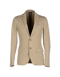 Ice Iceberg Suits And Jackets Blazers Men Beige