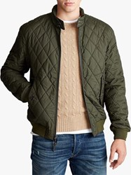 Ralph Lauren Polo Barracuda Quilted Jacket Company Olive