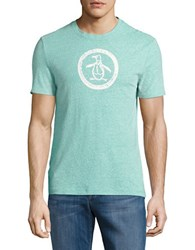 Original Penguin Graphic Tee Bright Aqua