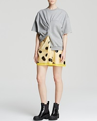 Marc By Marc Jacobs Dress Blurred Dot Misty Plastic Two Fold