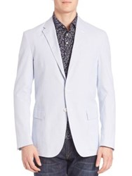 Polo Ralph Lauren Two Button Sportcoat Blue White