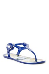 Nicole Miller Monsoon Thong Sandal Blue