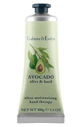 Crabtree And Evelyn 'Avocado Olive Basil' Ultra Moisturising Hand Therapy No Color