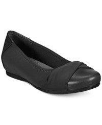 Bare Traps Mitsy Hidden Wedge Flats Women's Shoes Black