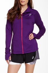Asics Long Sleeve Thermopolis Zip Jacket Purple