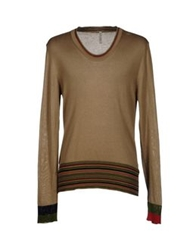 Aimo Richly Sweaters Khaki