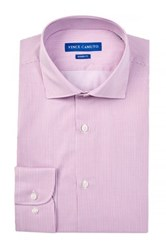 Vince Camuto Modern Fit Striped Dress Shirt Red