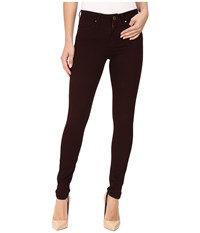Sanctuary Robbie High Skinny Pants Dark Shiraz Women's Casual Pants Burgundy