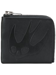 Mcq By Alexander Mcqueen Swallow Wallet Men Leather One Size Black
