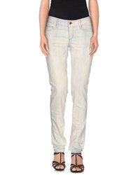 Care Label Denim Denim Trousers Women