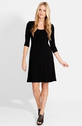 Women's Karen Kane A Line Jersey Dress Black