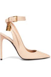 Tom Ford Embellished Python Pumps