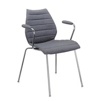Kartell Maui Soft Armchair Grey