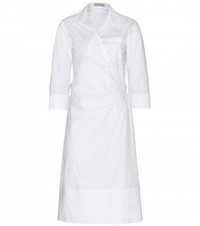 Nina Ricci Cotton Shirt Dress White