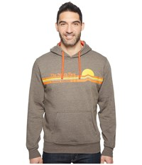 The North Face Tequila Sunset Hoodie Coffee Brown Heather Men's Sweatshirt Tan