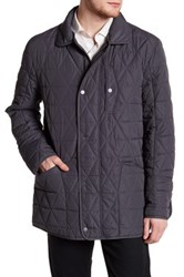 Andrew Marc New York Auburn Quilted Jacket Gray