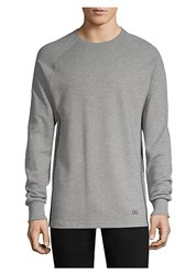 2Xist Mesh Panel Sweatshirt Grey Heather