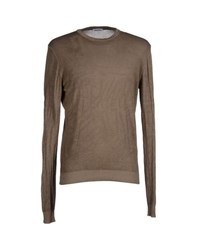 Bikkembergs Knitwear Jumpers Men Light Brown