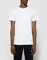 Norse Projects Niels Basic Ss Tee In White