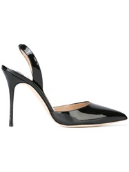 Manolo Blahnik Carolyne 105 Pumps Black