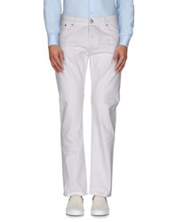 M.Grifoni Denim Trousers Casual Trousers Men White
