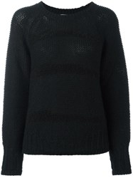 Lala Berlin Crew Neck Jumper Black