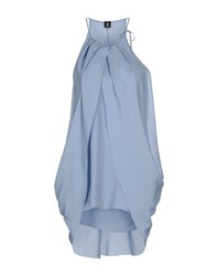 1 One Topwear Tops Women Sky Blue