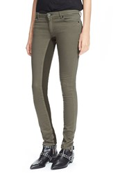 Superfine Denim Leggings Green