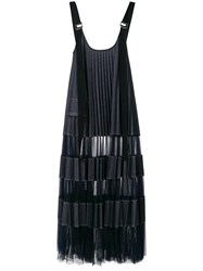 Aviu Pleated Pinafore Blue