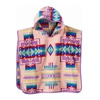 Pendleton Chief Joseph Hooded Children's Towel Pink