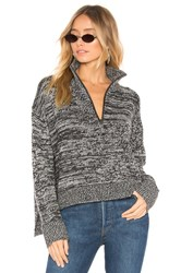 360Cashmere Charlotte Pullover Charcoal