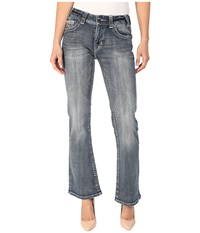 Rock And Roll Cowgirl Mid Rise Bootcut In Medium Wash W1 5622 Medium Wash Women's Jeans Navy