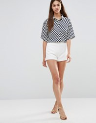 Darling Tailored Shorts White