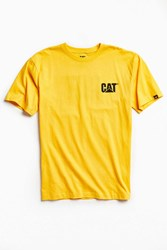 Urban Outfitters Cat Trademark Tee Yellow