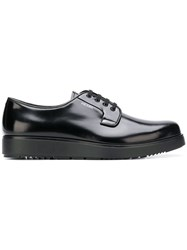 Prada Formal Lace Up Shoes Black