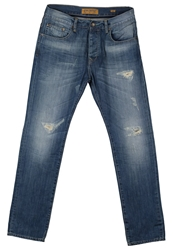 Petrol Industries Slim Fit Jeans Destroyed Destroyed Denim