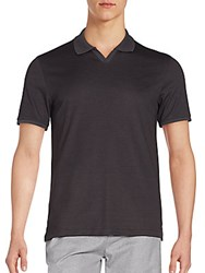 Vince Camuto Polo Shirt Charcoal