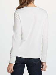 Selected Femme Elma Frill Top Snow White