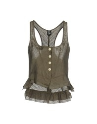 Tricot Chic Tops Grey