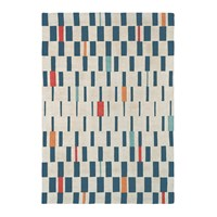 Scion Block Rug 140X200cm Poppy