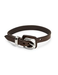 Uno De 50 Guerap Leather Buckle Bracelet