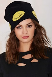 Nasty Gal All Smiles Knit Beanie