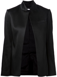 T By Alexander Wang Stand Up Collar Blazer Black