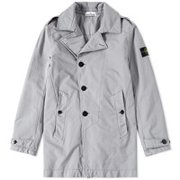 Stone Island David Trenchcoat Grey