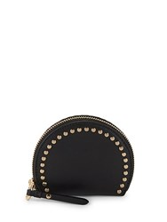 Vince Camuto Elyna Domed Leather Coin Purse Black