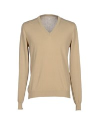 Asola Knitwear Jumpers Men Beige