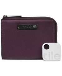Kenneth Cole Reaction Top Zip Coin Purse With Tracker Blackberry