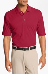 Men's Big And Tall Cutter And Buck 'Championship' Drytec Golf Polo Cardinal