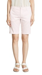 David Lerner Bermuda Shorts Soft Pink